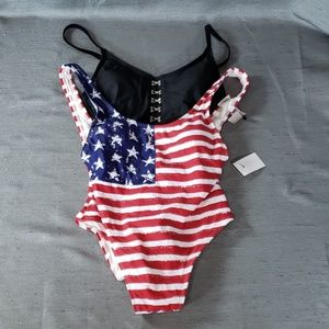 Not So Mystery Lot Of 2 One Piece Swimsuit Nwot